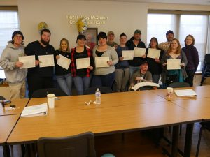 Volunteer to Peer graduates