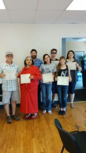 Volunteer to Peer Class